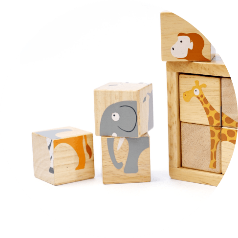 Buddy Blocks. Beginner Block Puzzle Set!