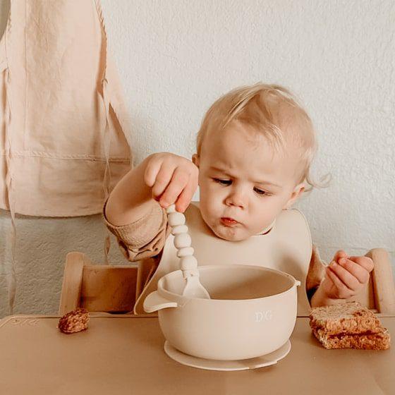 Baby Suction Bowl - Ivory