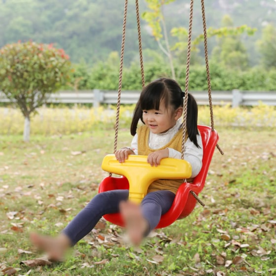 Red Baby And Toddler Swing Seat